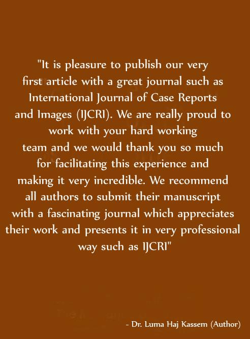 Dr. Luma Haj Kassem testimonial